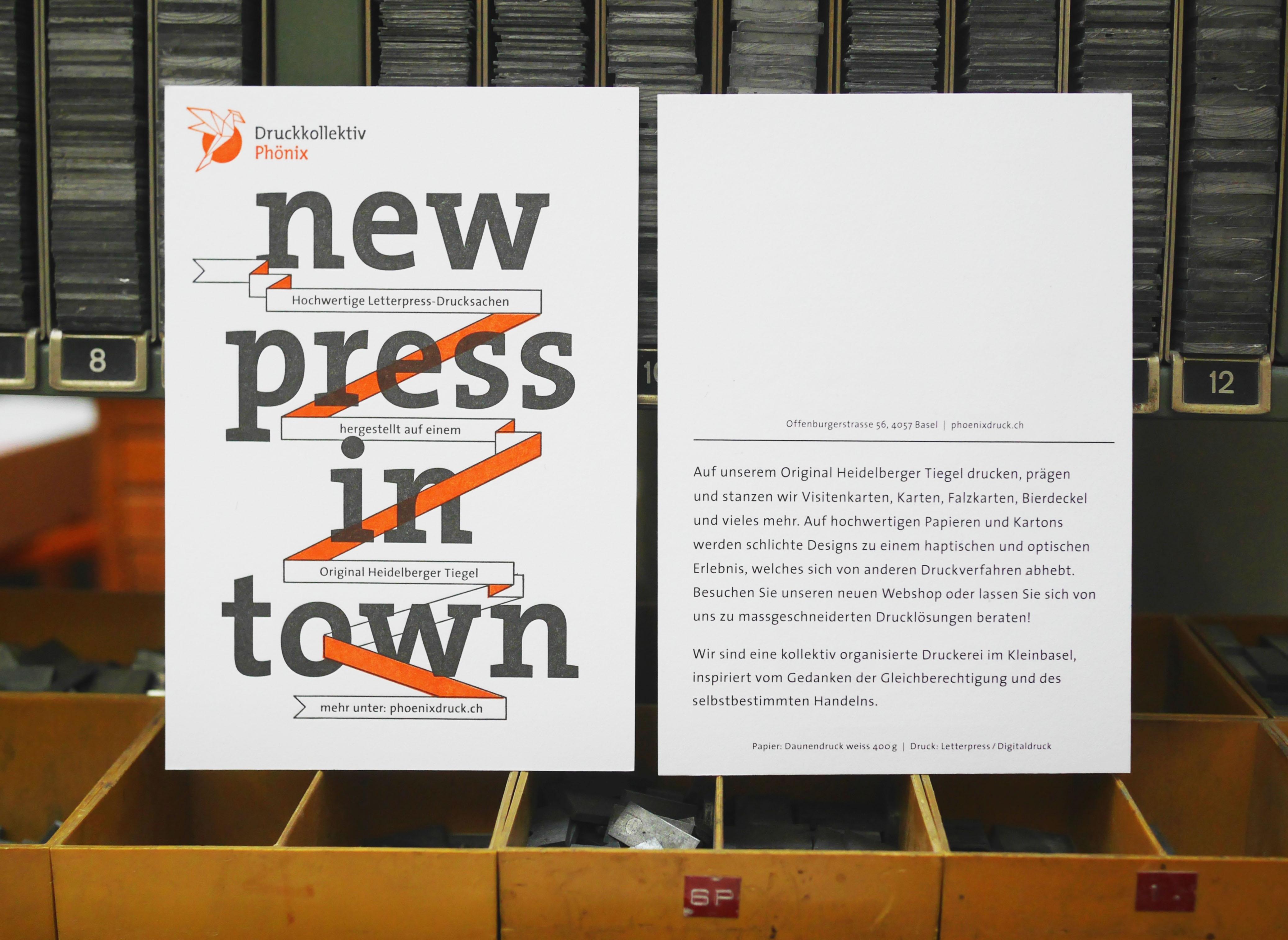 New Press In Town Druckkollektiv Phönix